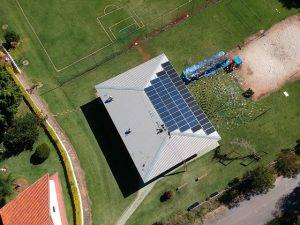 foto drone energia solar