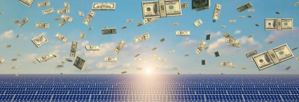 solar dinheiro